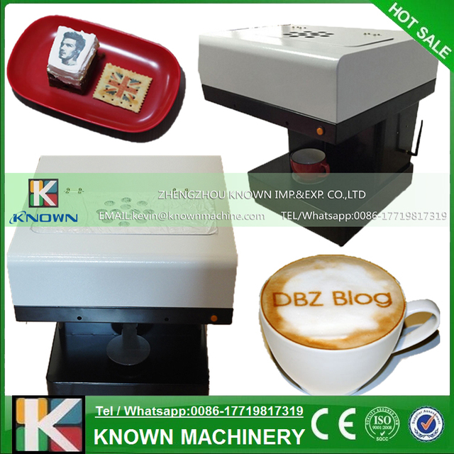 D Coffee Foam Printer