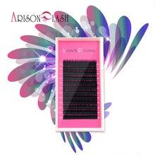 arison High quality synthetic natural individual eyelash extension Artificial False Eyelash Soft Black Makeup Tool Free shipping