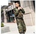 Envío libre, juego de la rana del ejército, uniforme multicam jungle táctico al aire libre juegos de los hombres, traje militar, entrenamiento militar estudiante