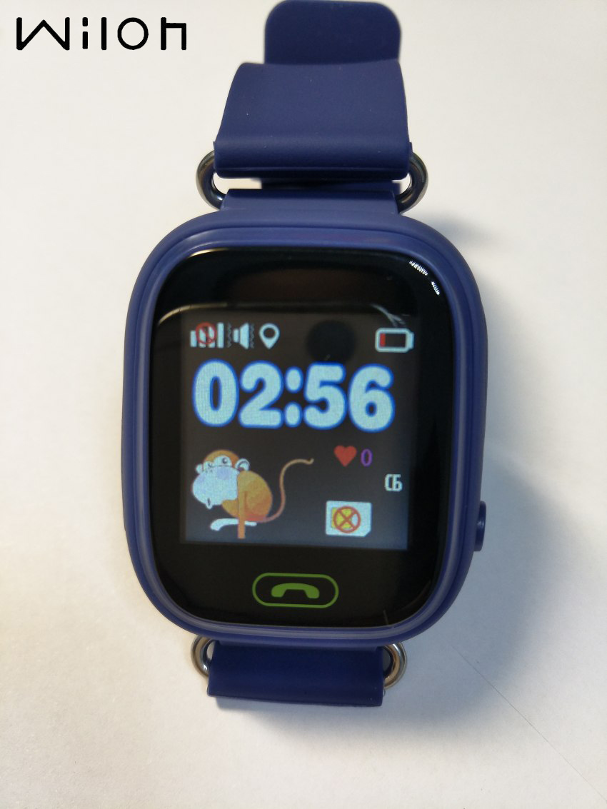 GPS Tracker Watch Kids Q90 Touch Screen GPS LBS Location Watches Children SOS Call Finder Tracker Kids Smart Watch 6 Colors