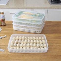 Ciasta kluska lodówka pojemne pudełko ciasta pojemnik na jedzenie nietoksyczny w Butelki  słoiki i pudełka od Dom i ogród na