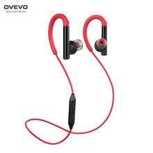 OVEVO X8 Sport headset Bluetooth 4.2 IPX6 Vattentät Apt-X Hi-Fi Sound Anti-svett trådlös hörlurar HD Ljud för smartphone