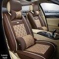 (Delantero y Trasero) cuero del asiento de coche especial cubre para honda civic accord fit elemento liberado vida cáscara del coche accesorios car styling