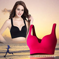 Wireless Bra Gather Shockproof Sleep Push Up Seamless Bra Vest Type Sexy Bra For Women