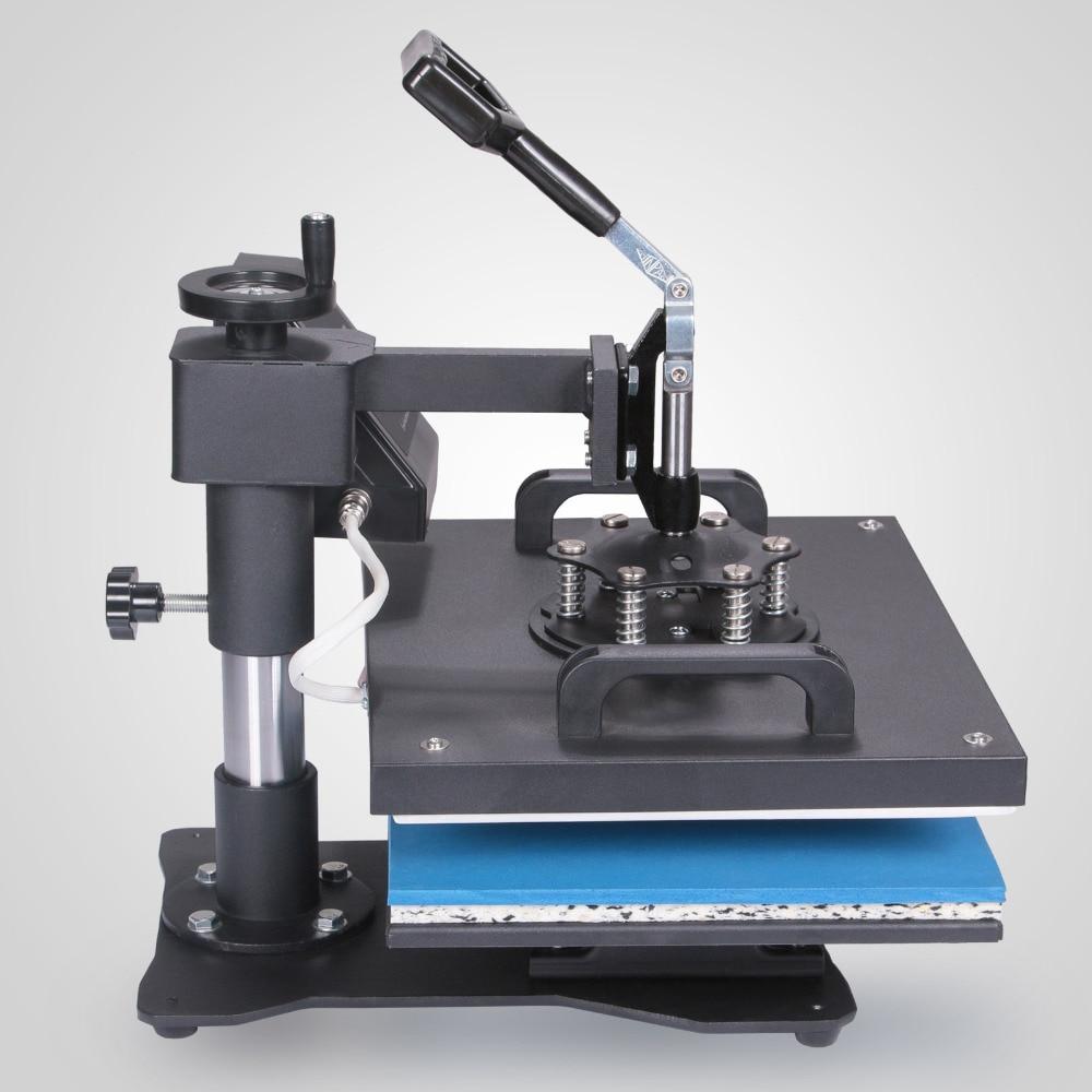 6In1 Heat Press Machine Digital Transfer Sublimation T-shirt Mug Hat Phonecase