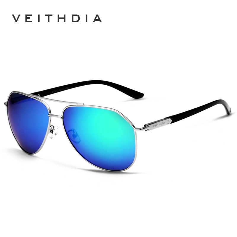 VEITHDIA แว่นตากันแดด Vintage Polarized Men สินค้าใหม่มาใหม่ยี่ห้อ Designer ดวงอาทิตย์แว่นตา gafas oculos de sol masculino 2732