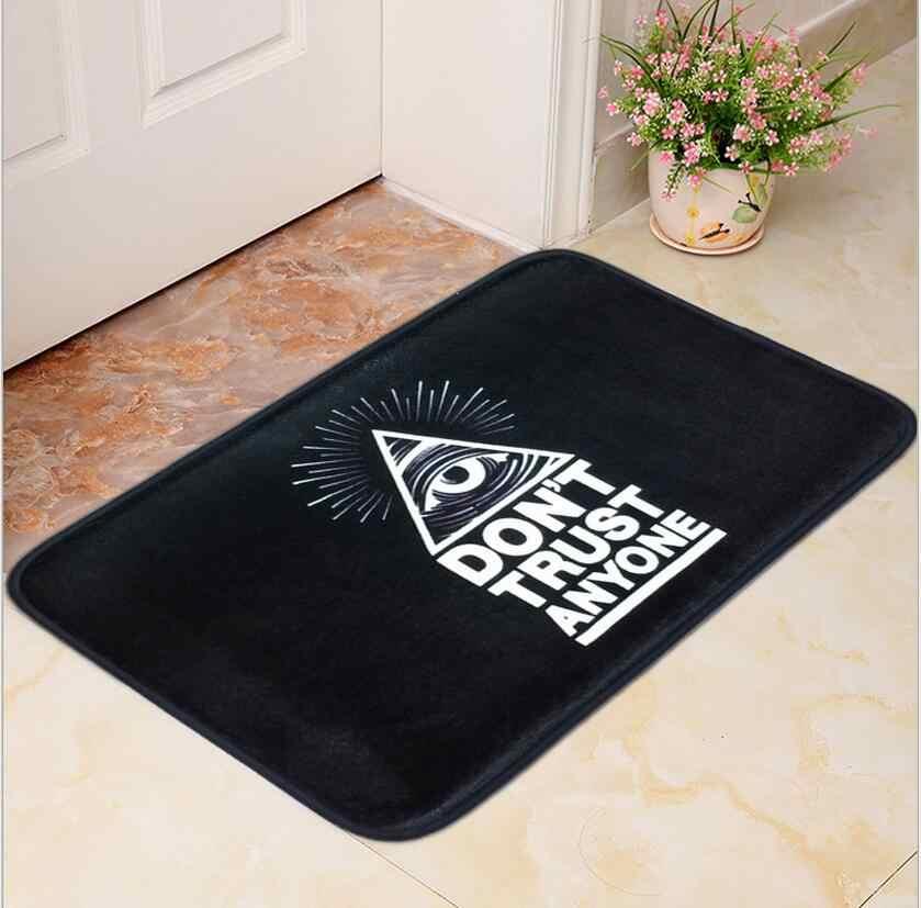 Sports Flannel Carpet Square Living Room Anti Slip Flooring Mat