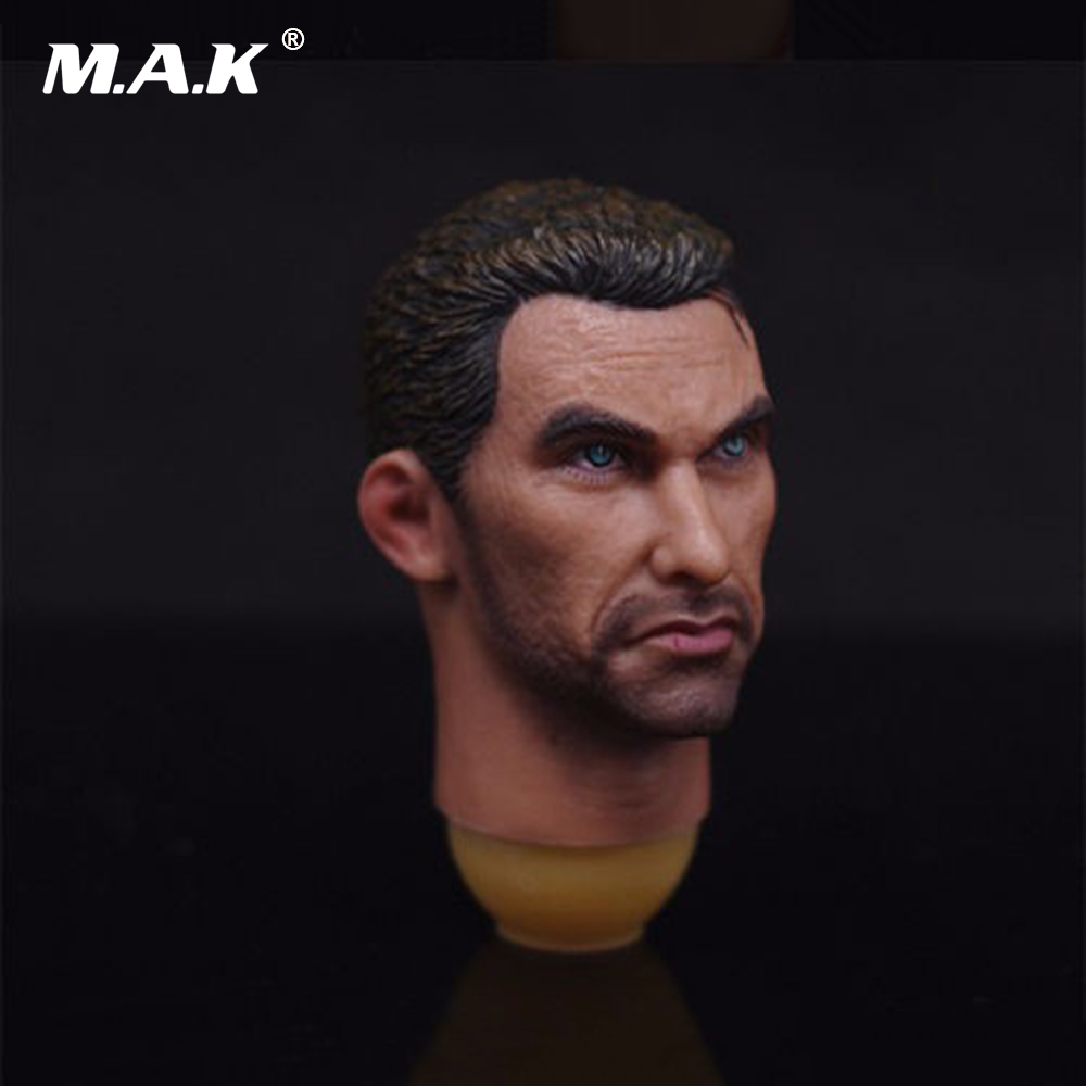 1/6 Russian Vladimir Makarov Male Head Sculpts Model Toys Man Head Carving For 12