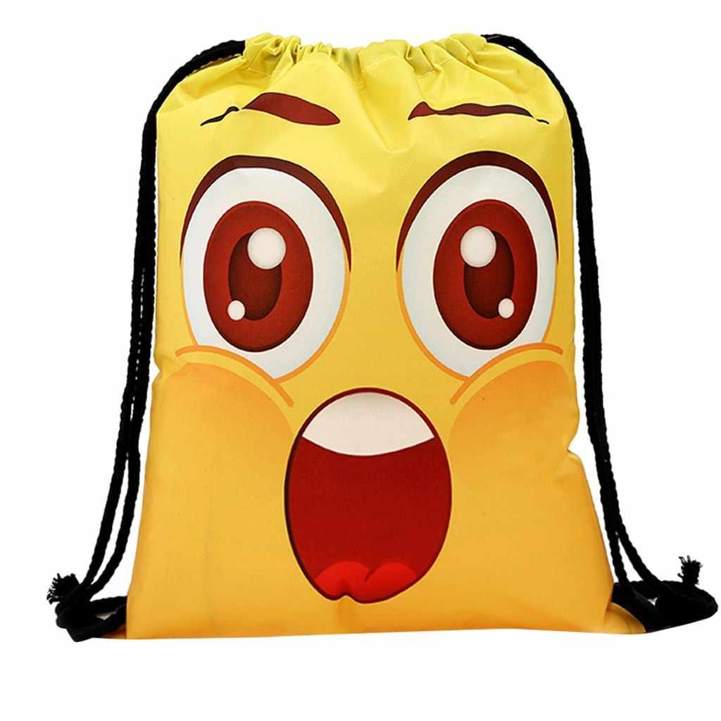 น่ารักการ์ตูนกระเป๋าเป้สะพายหลังกระเป๋านักเรียนสำหรับวัยรุ่นผู้หญิง Back Pack Bundle เชือกตลกรูปแบบน่ารัก Famale วัยรุ่น Bagpack mochila