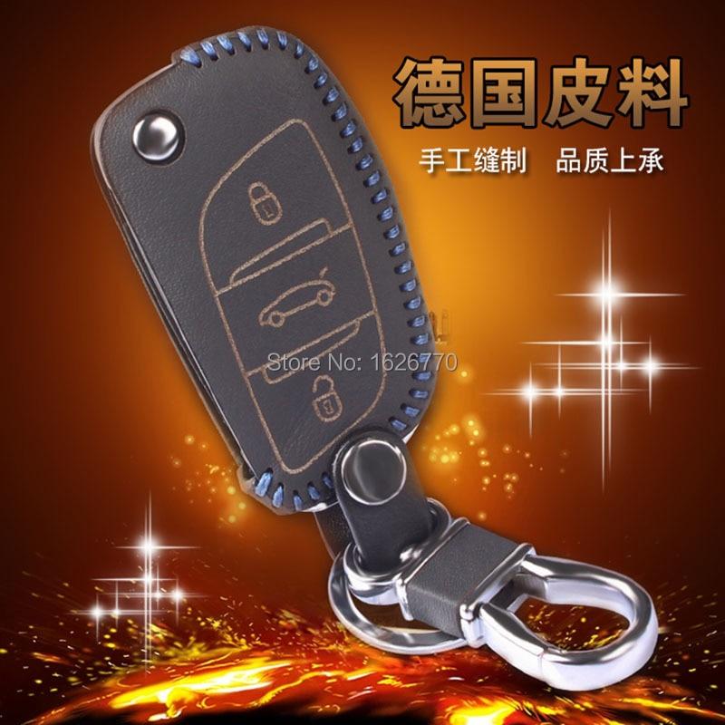 Genuine-Leather-Car-Key-Wallet-For-Citroen-C5-C4L-Leather-Keychains-3-Button-Leather-Car-Wallet (2).jpg