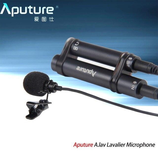 Aputure. lav петличный микрофон используется с мобильного записи другого оборудования для записи