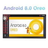 Тыква 2 Din 6,2 Android 8,0 автомобильный dvd плеер gps навигация Qcta Core 4 Гб ram 32G rom автомобильный стерео Wifi 4G DAB + FM радио головное устройство