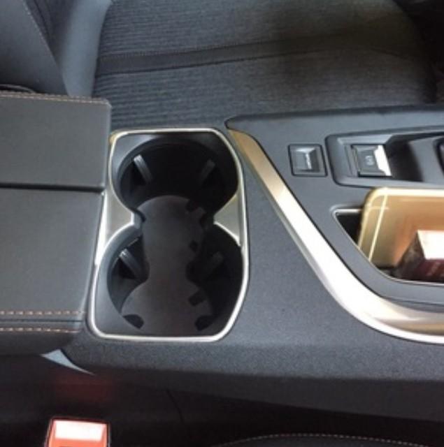 int rieur de la voiture porte gobelet trim couvercle moul accessoires pour peugeot 4008 5008. Black Bedroom Furniture Sets. Home Design Ideas
