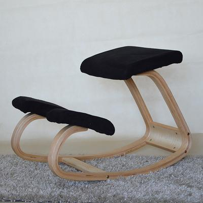 Ergonomic Kneeling Chair Stool Furniture Rocking Wooden Kneeling Computer Posture Chair Design correct posture anti-myopia chair