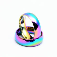 1pcs Sell Laser Color New Stainless Steel One Ring of Power the Lord of One Ring Lovers Women Men Fashion Jewelry Wholesale(China)
