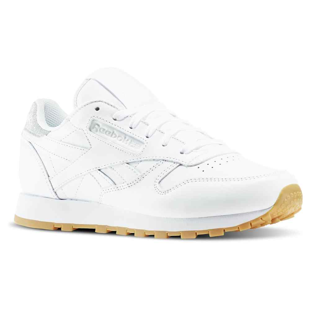Sneakers BD4423 Zapatillas Reebok Classic Leather Diamond Blanco Mujer