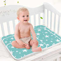 Size 60X75cm 50X70cm Baby Changing mat Portable Foldable Washable waterproof mattress children game Floor mats Reusable Diaper