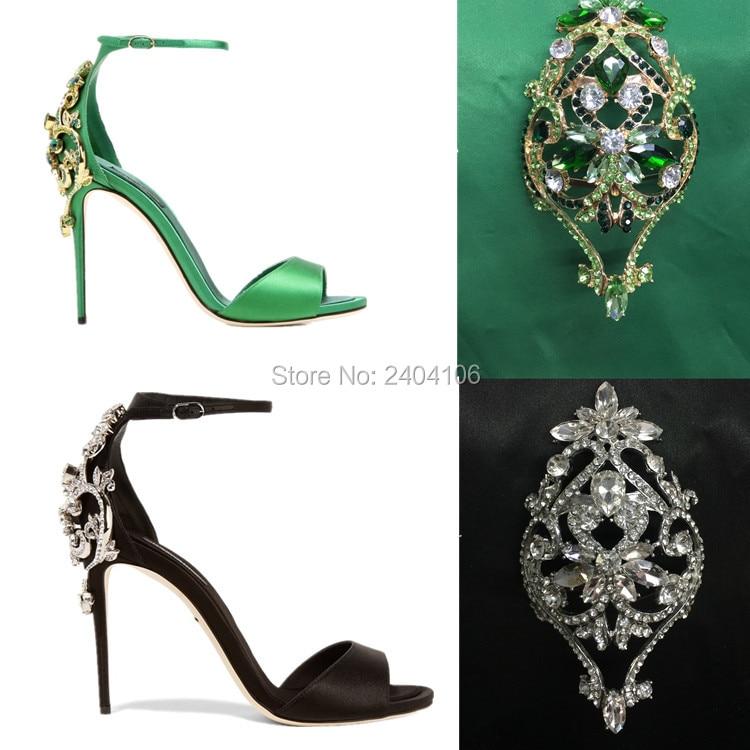 ФОТО 2017 Summer Women Crystal Sandals Rhinestone High Heels Luxury Party Sandals Buckle Strap Women Silk Shoes Free Shipping