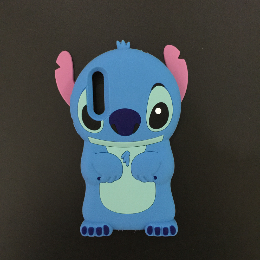 Cute 3D Cartoon Lilo Stitch Soft Silicone Case For Huawei P20 Pro Rubber Cover Phone Cases for Huawei P20 Plus
