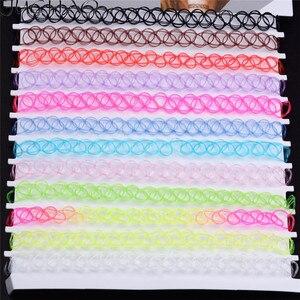 Ожерелье-чокер JUCHAO для девушек женское ожерелье ювелирные изделия