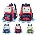 New Cartoon Robot School Bags For Boys Little Children Backpacks Kids Schoolbag Cool Backpack School Mochila Escolar Infantil