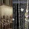 Extraordinary Garland Diamond Strand Acrylic Crystal Bead Curtain Home Party Wedding DIY Decor 916