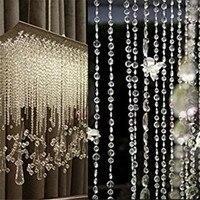 Diamant guirlande Strand Cristal Acrylique Perle Rideau Maison De Noce BRICOLAGE Décor 916 Extraordinaire