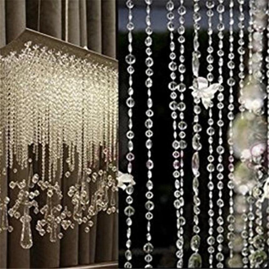 Garland Diamond Strand Acrylic Crystal Bead Curtain Home