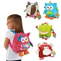 Sozzy Crianças Mochila Saco de Jardim de Infância Das Meninas dos Meninos Presentes Brinquedos Garoto Coruja Vaca Sapo Macaco Bonito Dos Desenhos Animados Escola Bags