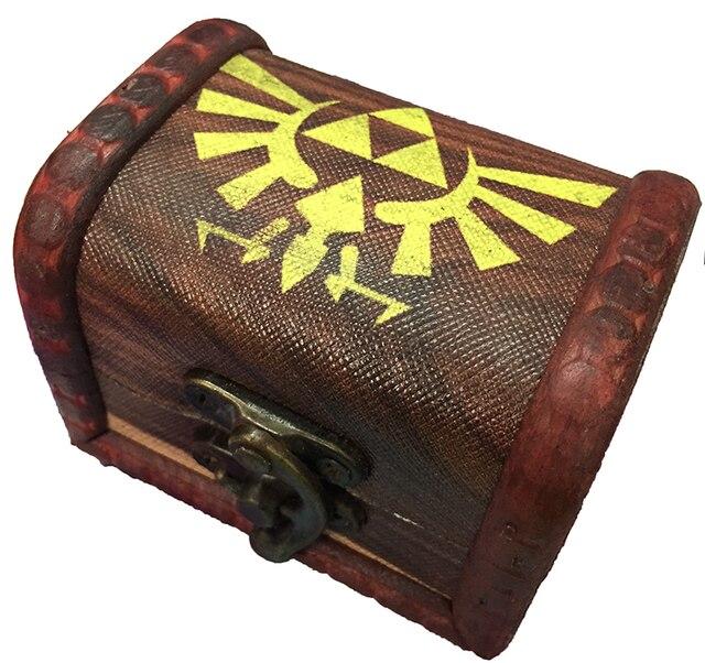 Подвеска и брелок в форме сердца Легенда о Зельде в подарочной коробке 5