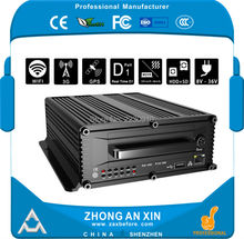 8 Channel Full HD D1 H.264 GPS tracking 3G WCDMA WIFI H.264 Car DVR Vehicle Mobile DVR MDVR