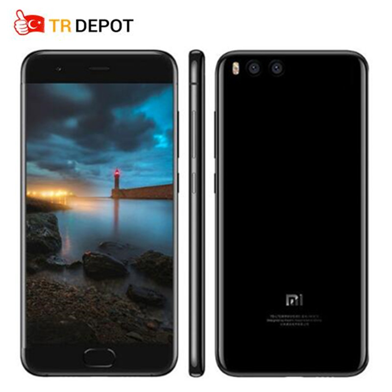 Original Xiaomi Mi6 Mi 6 Octa Core 4GB 64GB Snapdragon 835 Fingerprint ID FDD 5.15 FHD MIUI 9 NFC Android 7.1 OS Smartphone