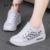 Formadores Mulheres Estilo Casual Sapatos de Verão Ao Ar Livre Respirável Baixos Top Sapatos de Salto Plana Mulher Das Senhoras Do Esporte Sapatos Tamanho 35-40 ZD71