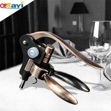 Hochwertigen Wein Flaschenöffner Korkenzieher Kupfer Farbe Kaninchen Korkenzieher Korkenzieher Hochzeit Bevorzugt Geschenk Flaschenöffner Werkzeuge