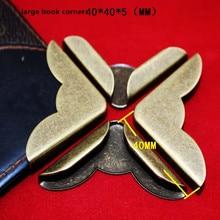 Corner-Protectors Metal-Corners Book Books-Pattern Bronze Tone for Carved 25--25--5mm
