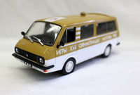 Rare Diecast Toy Model 1:43 Russian RAF 2203 Latvian Van Vehicles for Boy Gift,Decoration,Collection Commemorative Edition