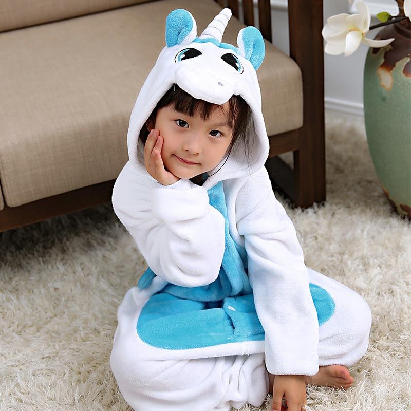 fa9b226d18 Kigurumi Winter Pajamas For Children Girls Unicorn Cartoon Animal Kids  Costume Boys Onesie Sleepwear Jumpsuit 4 6 8 10 12 Years - aliexpress.com -  imall.com