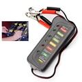 Универсальный Автомобильный Аккумулятор Тестер с 6-LED Свет Дисплей обязательный инструмент диагностики для владельцев автомобилей Автомобильные Аксессуары Детектор
