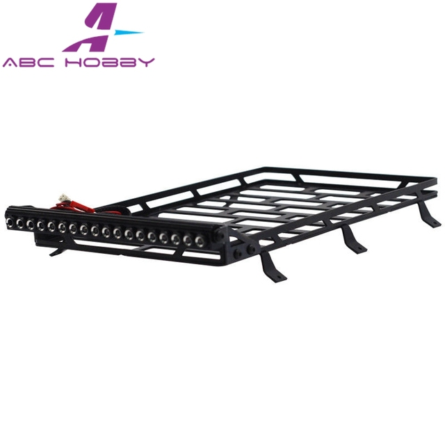 3ee2a9918d7b US $43.99 |FOR AX90046 Crawler 1/10 SCX10 II JCR Off road Roof Rack 1set  Black kit for AX31395-in Parts & Accessories from Toys & Hobbies on ...