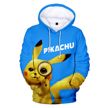 NEW Pokemon Men Hoodies Harajuku 3D cute Leisure popular Customized Print Design Men Anime 3D Hooded Sweatshirts Clothing