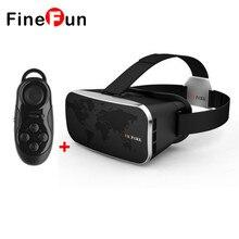 FineFun V3 3D Очки Шлем Картон Виртуальная Реальность Мобильный 3D Видео Частный Театр для iPhone 4.0-6.0 Смартфон # F1112