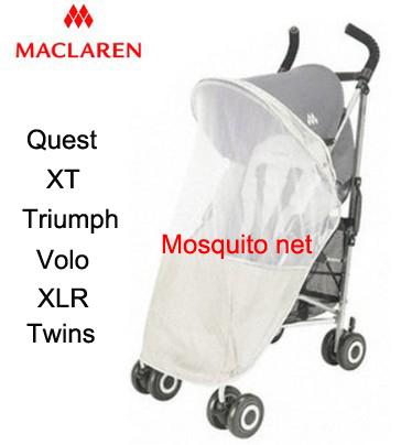 Original Maclaren cochecito de bebé cochecito mosquitera generales en una silla de ruedas del carro Accesorios