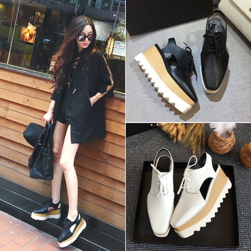 Plate Zapatos As Sandales Peu Dentelle forme Plat Bout Oxford Mujer Show Femme Casual Mixte Couleur Sneakers Show Dames Marque Profonde as Carré up Mode Nouvelle 1q46wt6
