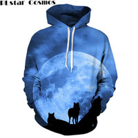 PLstar Cosmos 2017 Hoodies Space Galaxy Sweatshirt 3D Hoodie Coat Casual Streetwear Hat Sweatshirt Men Women