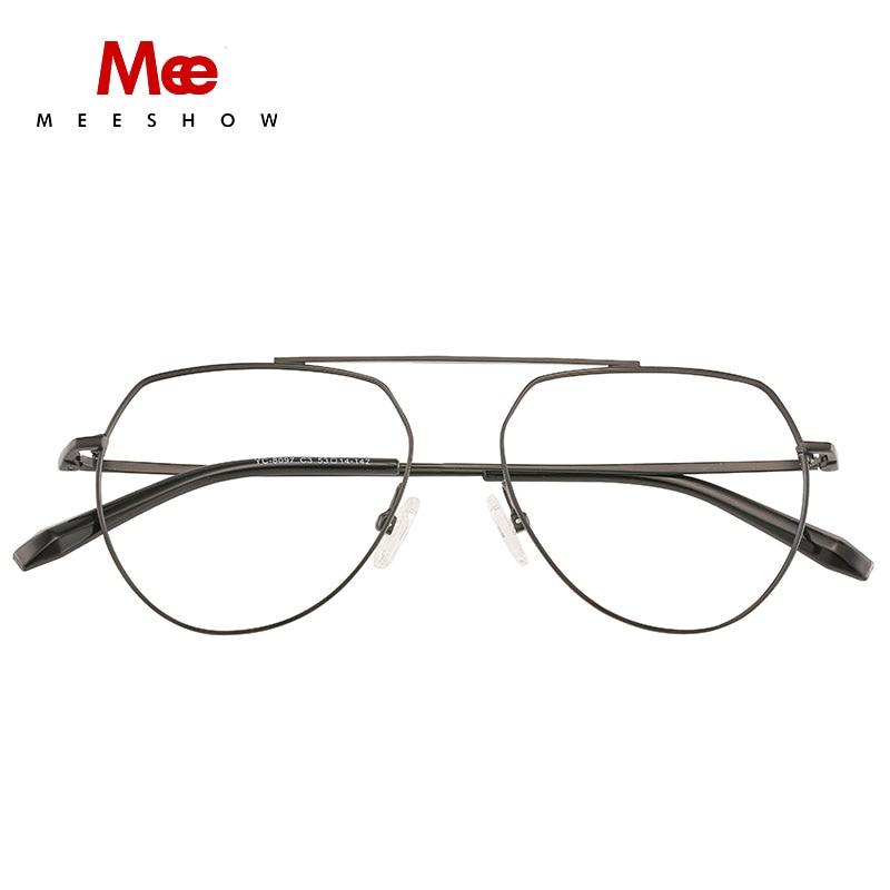 Titanium Alloy Glasses Frame women Ultralight Vintage Round myopia Prescription Eyeglasses Optical Frame spectacle glass 1813