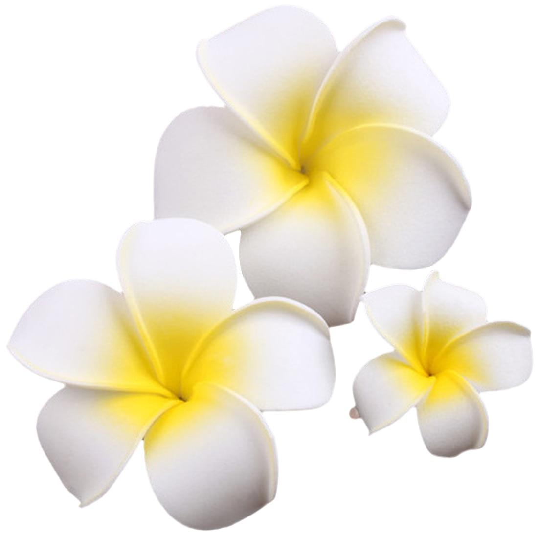 Pince tropicale fleur de frangipane