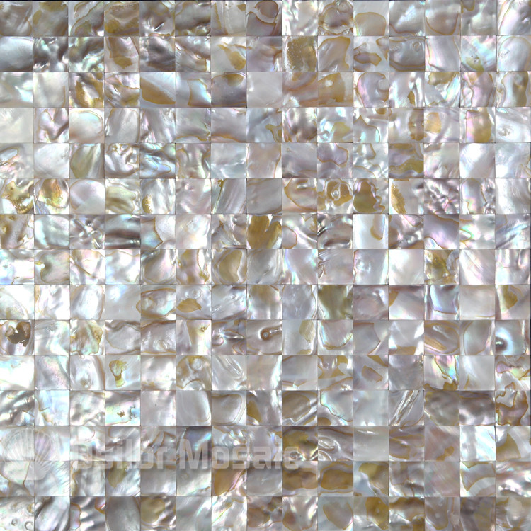 natural iridescent color 100% natural Chinese freshwater shell mother of pearl mosaic tile for interior house decoration environmentally friendly pvc inflatable shell water floating row of a variety of swimming pearl shell swimming ring