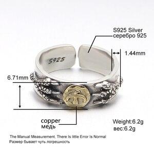 100% czysta 925 Sterling Silver Rings Takahashi Goros orzeł pióra otwarcie biżuteria prezent urodzinowy 183