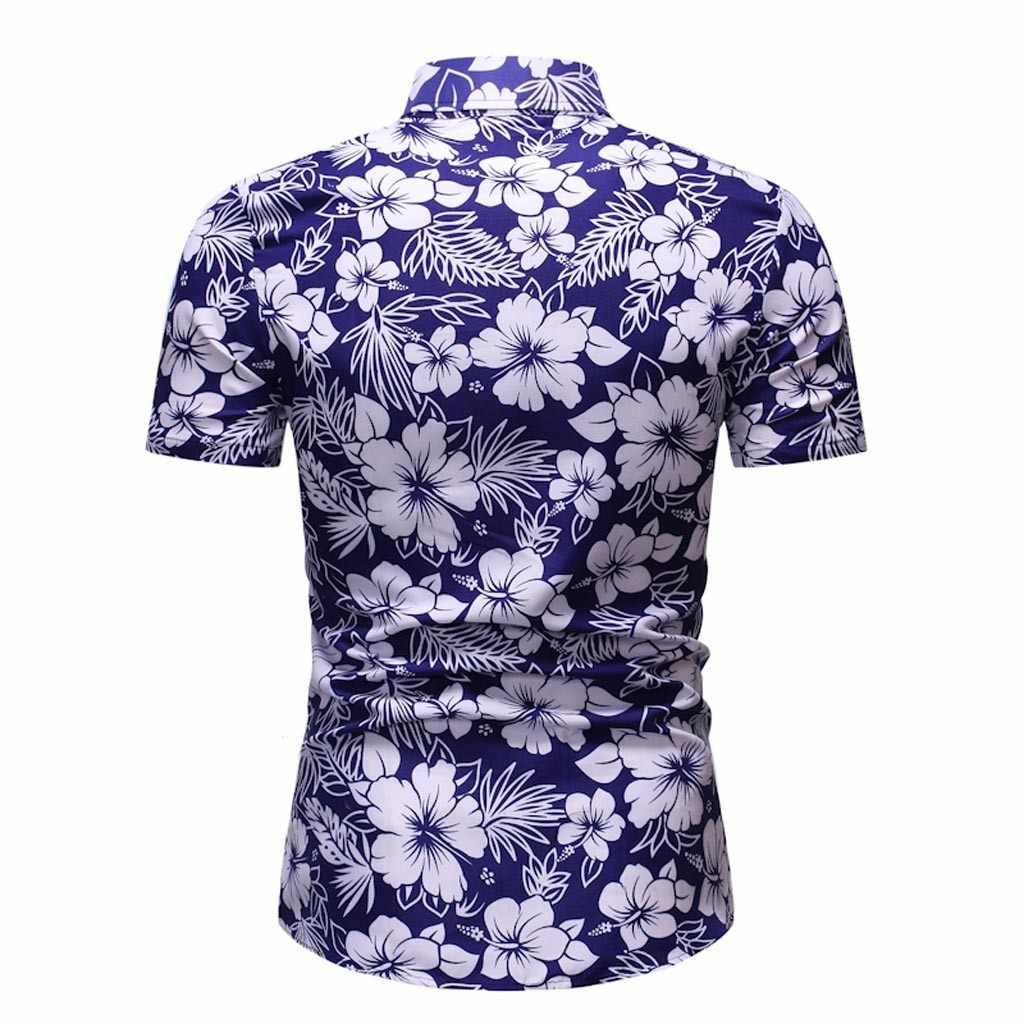 ฤดูร้อน Harajuku เสื้อผู้ชาย Kimono Flamingo ดอกไม้ COCO Leaf พิมพ์เสื้อ Cardigan ชาย Hawaiian Beach หลวมเปิด