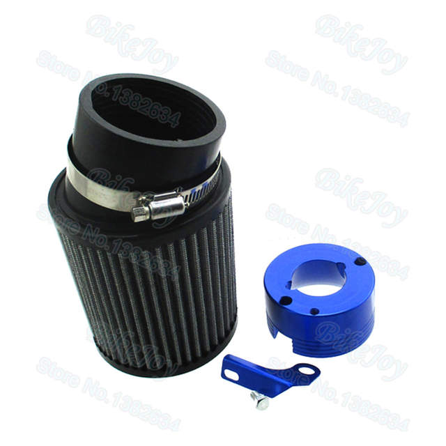 US $27 04 11% OFF|62mm Air Filter & Blue Adapter Kit For Predator 301cc  420cc Honda GX340 GX390 Clone Engine Go Kart-in Air Filters & Systems from
